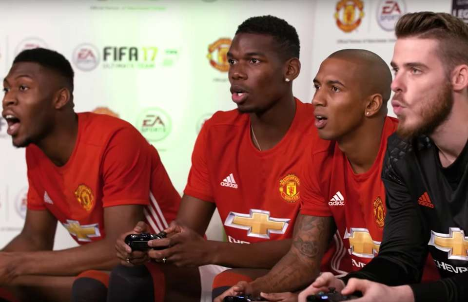Paul Pogba takes down Wayne Rooney in FIFA 17 tournament ...